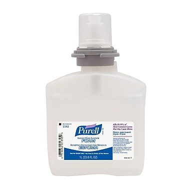 GOJO® Purell® Advanced Instant Hand Sanitizer, Clear, 2/Pack