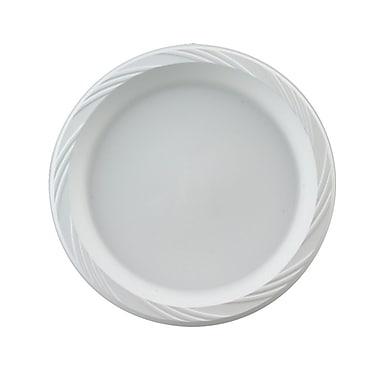 Chinet® Huhtamaki 6in. Lightweight Round Plastic Plate, White