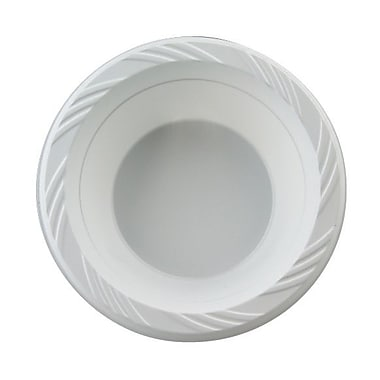 Chinet® Huhtamaki 12 oz. Lightweight Round Plastic Bowl, White