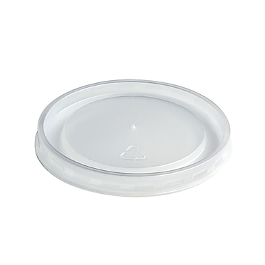 Chinet® Plastic High Heat Vented Lid For 16 - 32 oz. Container, White
