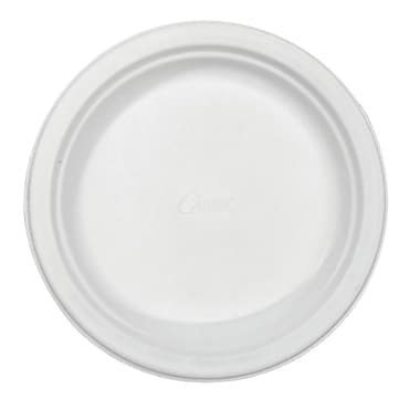 Chinet® Huhtamaki 6 3/4in. Recycled Round Paper Plate, White