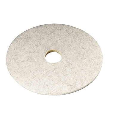 3M™ 27in. Natural Blend Pad, White