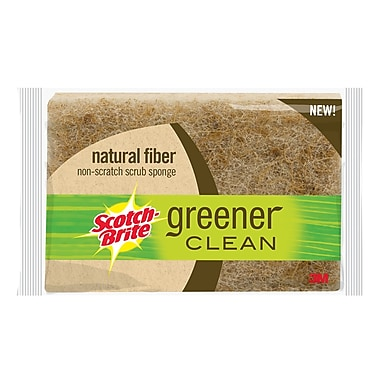 3M™ Scotch-Brite™ Greener Clean Biodegradable Sponge