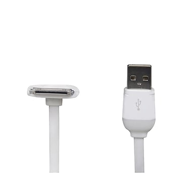 The Joy Factory Duralink 6' 90 deg Apple 30-Pin to USB Cable For iPads, iPhones and iPods