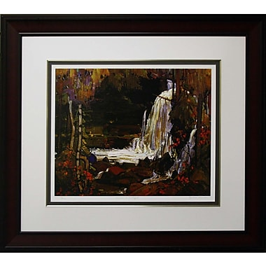 Woodland Waterfall Framed by Tom Thomson