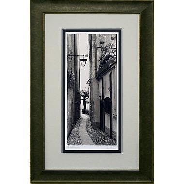 La Strada Porto Fino Framed by Alan Blaustein
