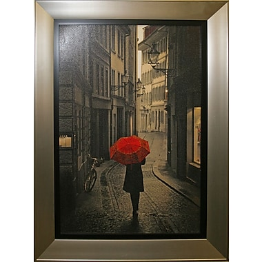 Red Rain Framed by Stefano Corso