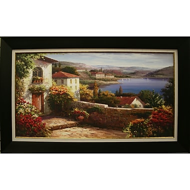 Sunday Afternoon on Lake Maggiore Framed by Steven Livretta