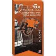 BC Lions Canvas, Grey Cup Champions