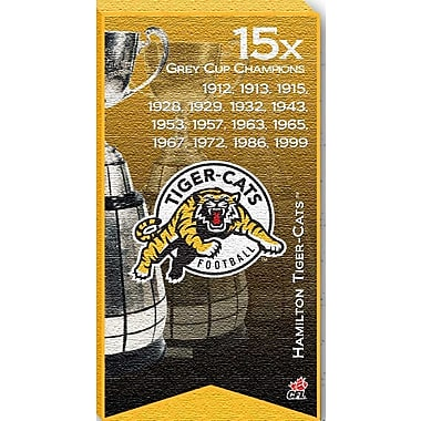 Hamilton Tiger Cats Canvas, Grey Cup Champions