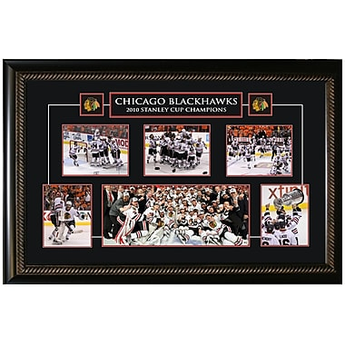 Chicago Blackhawks 2010 Framed Stanley Cup Collage
