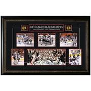 Chicago Blackhawks 2010 Framed Stanley Cup Collage