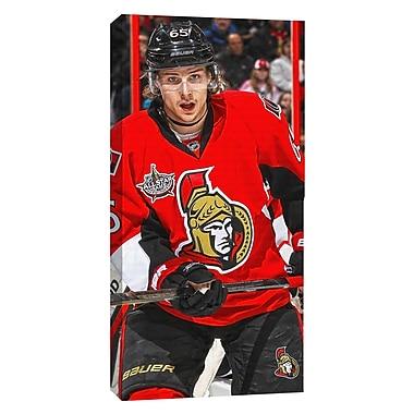 Erik Karlsson Canvas, Ottawa Senators, Dark Jersey