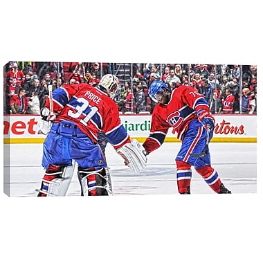 Carey Price & P.K. Subban Canvas, Montreal Canadiens,