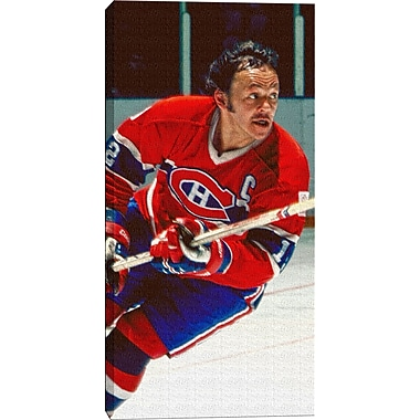 Yvan Cournoyer Canvas, Montreal Canadiens