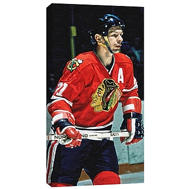 Stan Mikita Canvas, Chicago Blackhawks
