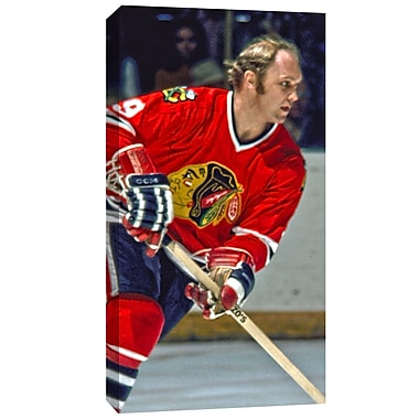 Bobby Hull Canvas, Chicago Blackhawks