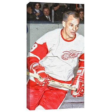 Gordie Howe Canvas, Detroit Red Wings