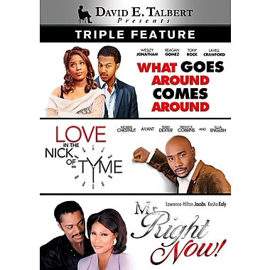 David E. Talbert - Triple Feature (DVD)