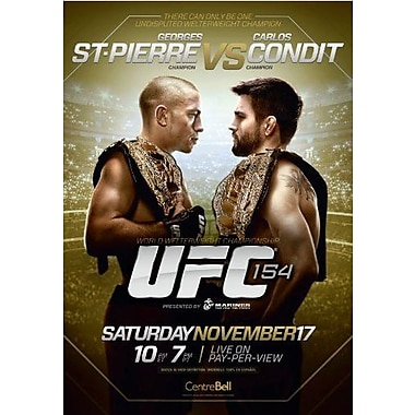 UFC 154: St-Pierre vs. Condit (DVD)