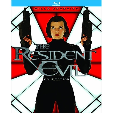 Resident Evil/Resident Evil: Afterlife/Resident Evil: Apocalypse/Resident Evil:Extinction/Resident Evil: Retribution (Blu-Ray)