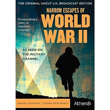 Narrow Escapes of World War II (DVD)