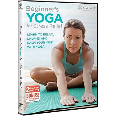 Gaiam Beginners Yoga For Stress Relief (DVD)