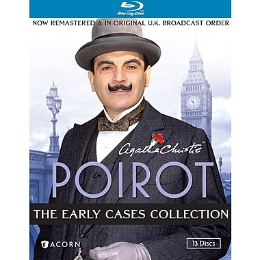 Agatha Christie's Poirot - The Early Cases Collection (Blu-Ray)
