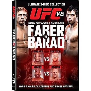 UFC 149: Faber vs Barao (DVD)