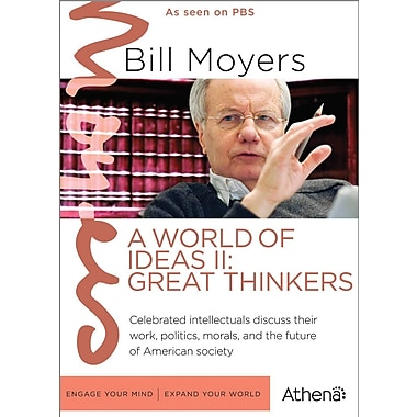 Bill Moyers - World of Ideas II - Great Thinkers (DVD)