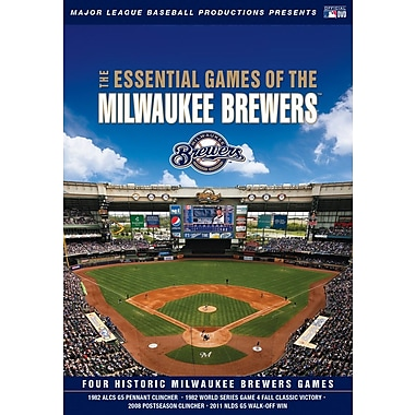 Essential Games of the Milwaukee Brewers (DVD)