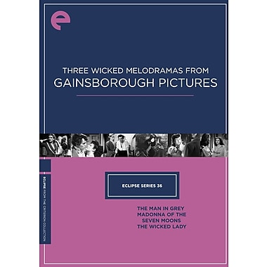 Three Wicked Melodramas from Gainsborough Pictures - Eclipse Series 36 (DVD)