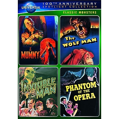 Classic Monsters Spotlight Collection (DVD) 2012