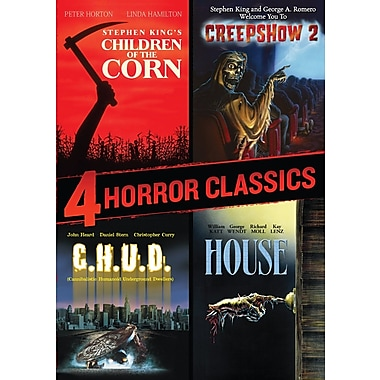 4 Horror Classics (Children Of The Corn/Creepshow 2/House/C.H.U.D.) (DVD)