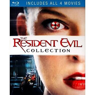Resident Evil/ Resident Evil: Afterlife/ Resident Evil: Apocalypse/ Resident Evil: Extinction 4 Pack (Blu-Ray)