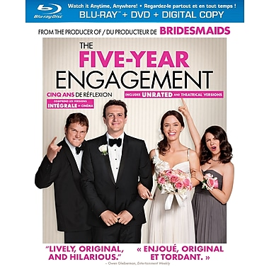 Five Year Engagement (Blu-Ray + DVD + Digital Copy)