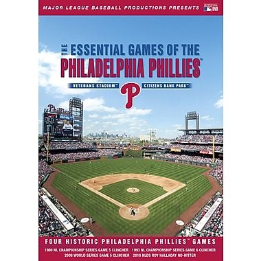 Essential Games of the Philadelphia Phillies (DVD)