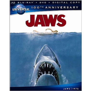 Jaws 100th Anniversary (Blu-Ray + DVD + Digital Copy)