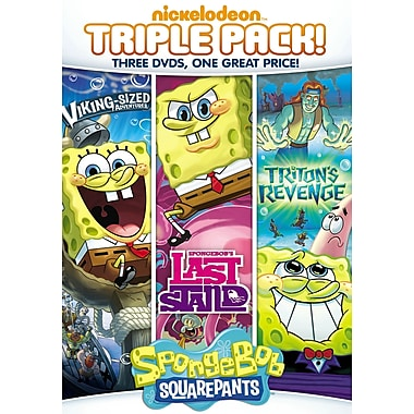 SpongeBob SquarePants Triple Feature: Last Stand / Triton's Revenge / Viking Sized Adventures (DVD)