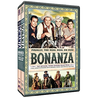Bonanza: The Official Third Season, Volumes One and Two - 2 Pack (DVD)
