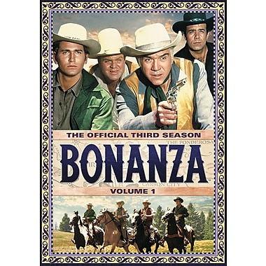 Bonanza: The Official Third Season, Volume One (DVD)
