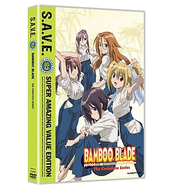 Bamboo Blade: The Complete Series (DVD)