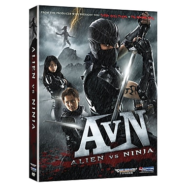 Alien vs Ninja: Live Action Movie (DVD)