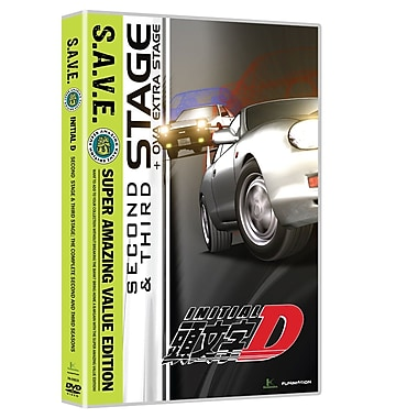 Initial D: Second and Third Stage (DVD)