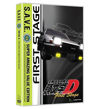 Initial D: First Stage, Part One (DVD)