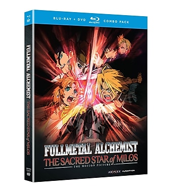 Fullmetal Alchemist Brotherhood: The Sacred Star of Milos (Blu-Ray + DVD)