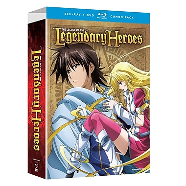 Legend of the Legendary Heroes: Part 1 (Blu-Ray + DVD)