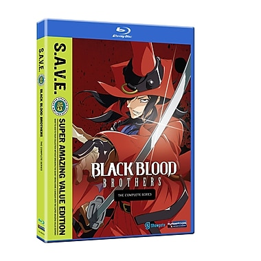 Black Blood Brothers: The Complete Series (Blu-Ray)