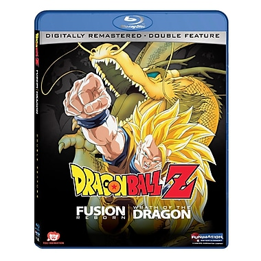 Dragon Ball Z Fusion Reborn/Wrath of The Dragon (Blu-Ray)