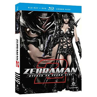 Zebraman 2: Attack On Zebra City (Blu-Ray + DVD)